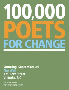 100000 poets poster