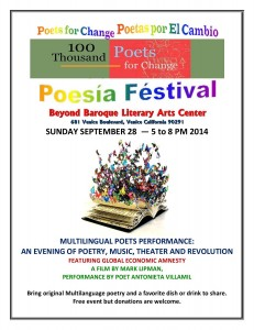 Beyond Baroque 100 mil poetas