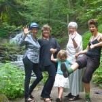 River Voices Owen Sound, Ontario  with poet Liz Zetlin & Owen Sound Poet Laureate Terry Burns, and musicians Keira McArthur and Coco Love Alcorn