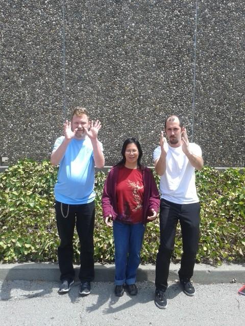 Sean Jones, Glynda Velasco, and Jordan Talley-Napa, CA