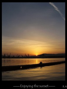On the pier- Volos